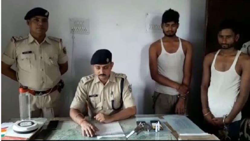 अपराधियों की योजना पर फिरा पानी, वारदात को अंजाम देने जा रहे बदमाशों को पुलिस ने किया गिरफ्तार