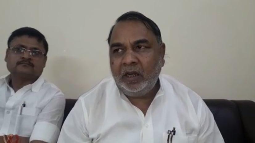 दो दिवसीय दौरे पर खनन एवं भूतत्व मंत्री बृज बिहारी बिंद पहुंचे नवादा, कार्यकर्ताओं का पटना आने का दिया न्योता