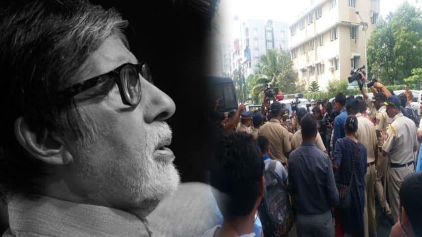 अमिताभ बच्चन के घर बाहर बढ़ाई गई सुरक्षा, जया बच्चन के बयान के बाद परिवार को था खतरा