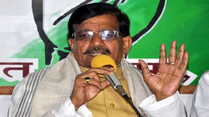 प्रदेश कांग्रेस अध्यक्ष मदन मोहन झा का बयान, हमें शपथ ग्रहण समारोह में नहीं मिला आमंत्रण, हम तेजस्वी के बयान के साथ कायम