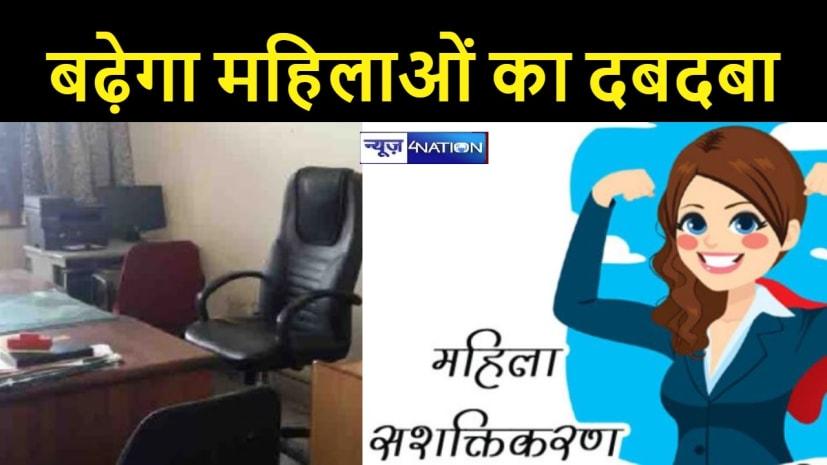 'सशक्त महिला-सक्षम महिला' : अब बिहार के दफ्तरों में शीर्ष पदों पर 35 % महिलाएं संभालेंगी कमान