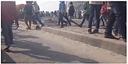 पटना में ट्रक के नीचे आने से 5 साल की बच्ची की मौत, आक्रोशित लोगों ने काटा बवाल