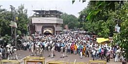 नियोजित शिक्षकों पर कार्रवाई : 15 नामजद सहित 5000 अज्ञात पर मामला दर्ज, 5 गिरफ्तार