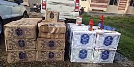 गया में उत्पाद विभाग की टीम को मिली सफलता, 756 बोतल विदेशी शराब के साथ एक पिकअप वाहन जब्त