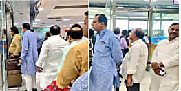 बिहार बीजेपी के नवनियुक्त प्रदेश अध्यक्ष संजय जायसवाल ने पेश की सादगी की मिसाल, दिल्ली एयरपोर्ट पर लाइन में खड़े होकर कराया चेकिंग