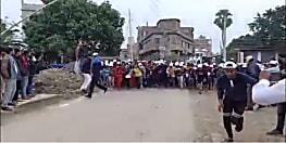 बेगूसराय में छात्राओं ने लगायी दौड़, नशाबंदी और हरियाली का दिया संदेश