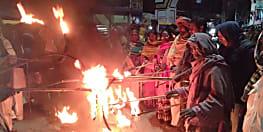 नवादा में वामदलों ने निकाला मशाल जुलूस, बिहार बंद को सफल बनाने की लोगों से की अपील