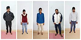 बिहार एसटीएफ को मिली बड़ी कामयाबी, 8 पिस्टल के साथ 5 को किया गिरफ्तार