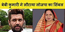 चिराग की पार्टी से चुनाव नहीं लड़ना चाह रहे कैंडिडेट! विधायक बेबी कुमारी ने लौटाया सिंबल