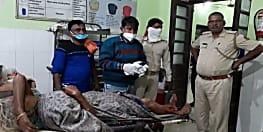 भूमि विवाद में पोते ने दादी को मारी गोली.... नालंदा के उमरचक गांव का मामला