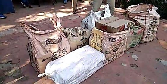 कटिहार में पुलिस की बड़ी कार्रवाई, 600 लीटर शराब बरामद