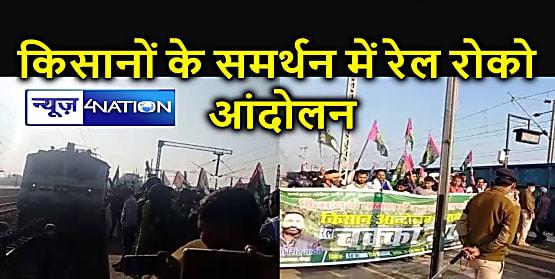किसानों के समर्थन में जाप कार्यकर्ताओं ने जोधपुर एक्सप्रेस पर लगाया ब्रेक, कृषि कानून वापस लेने की मांग