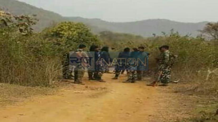 नवादा में पुलिस और नक्सलियों के बीच मुठभेड़,1 नक्सली के मारे जाने की खबर