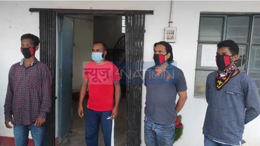 कारोबारी अभय सिंह से दो करोड़ रंगदारी मांगने का मामला, पुलिस ने कुख्यात सुजीत सिन्हा के चार गुर्गों को किया गिरफ्तार