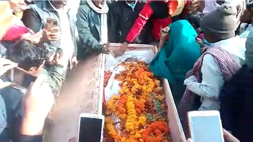 BSF में तैनात बिहारी जवान का शव पहुँचते ही गांव में पसरा मातम, परिजनों का रो-रोकर बुरा हाल
