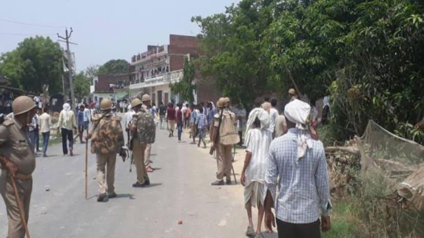 आर्मी जवान की गला दबाकर हत्या, गुस्साए ग्रामीणों ने पुलिस पर किया पथराव