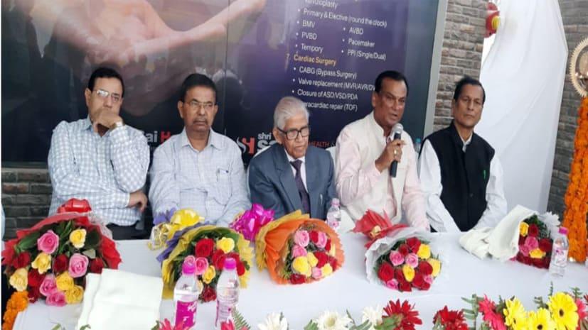 खुशखबरी : अब पटना के श्री साई हॉस्पिटल में मिलेगा बीमार दिल को सस्ता इलाज,  अत्याधुनिक हार्ट यूनिट का हुआ शुभारंभ