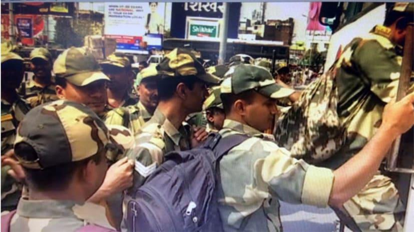 पहले चरण के मतदान के लिए BSF की चार टुकड़ी पहुंची बिहार, नक्सली इलाके में संभालेंगे मोर्चा