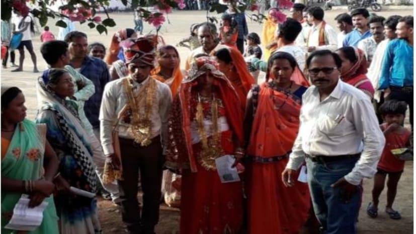 बिहार में 5 लोकसभा सीटों पर12बजे तक 25.35 फीसदी मतदान, ससुराल जाने से पहले गाजे बाजे के साथ दुल्हन ने की वोटिंग