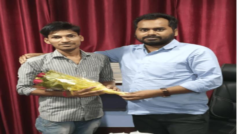 चाणक्या क्लैट क्लासेज के छात्रों का जलवा, बीएचयू की परीक्षा में विकाश कुमार को मिली तीसरी रैंक