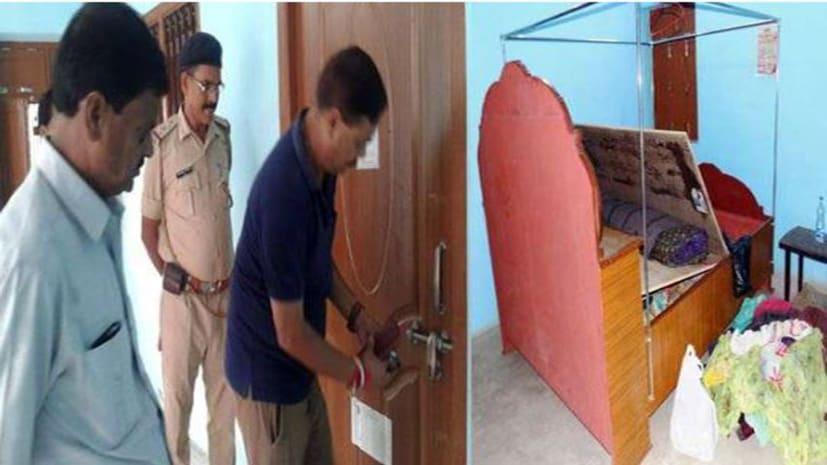 पीएचईडी मंत्री विनोद नारायण झा के घर चोरी, घर का ताला तोड़ चोरो ने घटना को दिया अंजाम