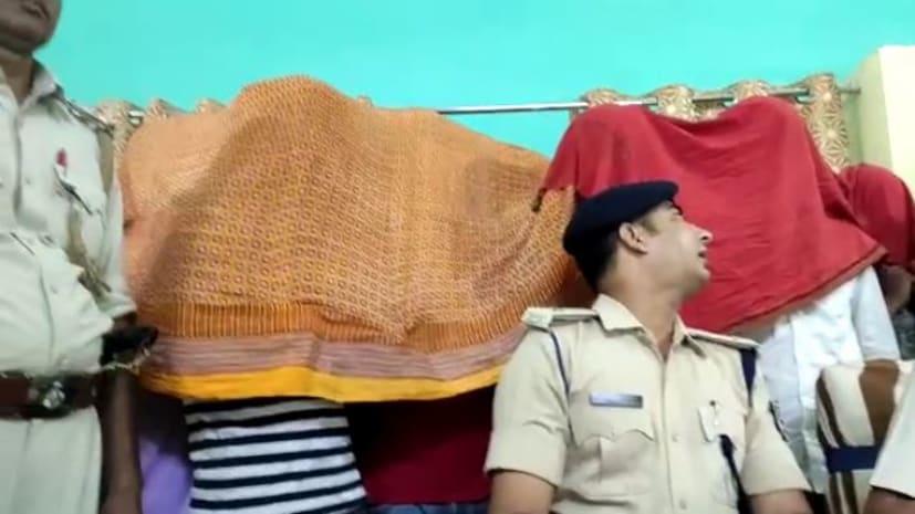 पुलिस को मिली सफलता, हथियार के साथ चार को किया गिरफ्तार, एक भागने में सफल