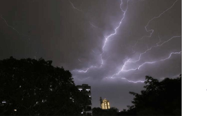 बिहार में आकाशीय बिजली गिरने से 12 लोगों की मौत....कई झुलसे