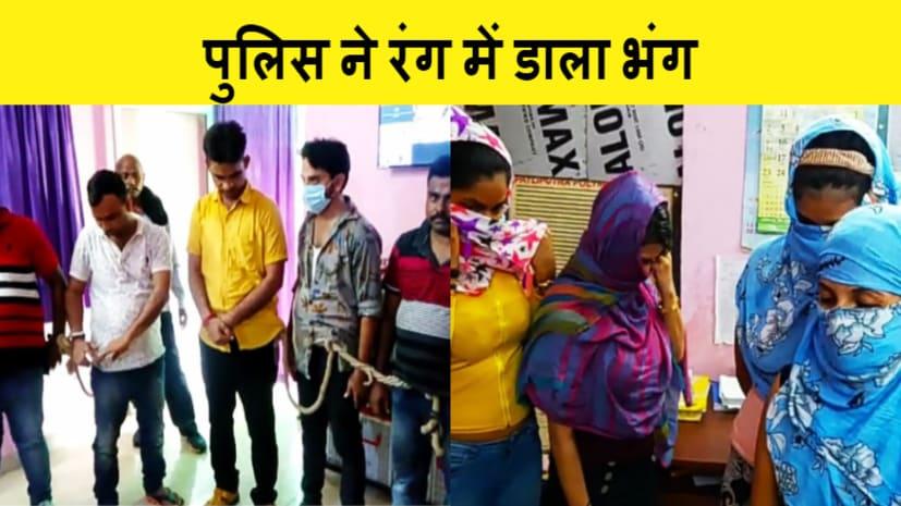 बड़ी खबर : पटना के एक होटल में शराब पार्टी करते पांच युवक-युवतियां गिरफ्तार