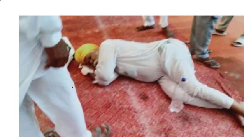 पूर्व CM प्रकाश सिंह बादल के घर के बाहर किसान ने खाया जहर, हॉस्पिटल में एडमिट