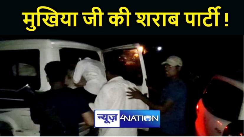 BREAKING NEWS : शराब पार्टी करते 6 मुखिया सहित 18 लोग गिरफ्तार, हथियार और जिन्दा कारतूस बरामद