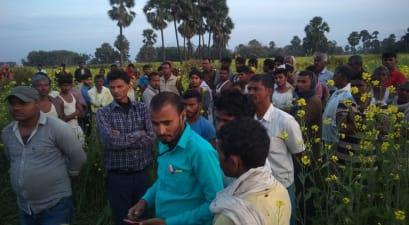 नवादा में खेत से बरामद हुआ युवती का शव,जांच में जुटी पुलिस