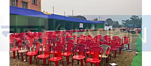 नवादा में कृषि मेले का खुल गया पोल, किसानों की  बाट जोहती रही खाली कुर्सियां