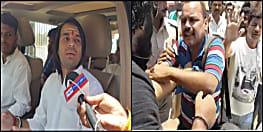 लोकतंत्र शर्मसार: तेजप्रताप यादव के बाउंसरों ने पटना में वोटिंग के दौरान पत्रकार को जमकर पीटा