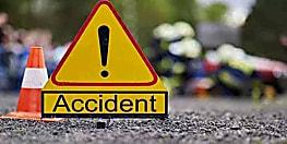नवादा में वज्रवाहन ने मारी बाइक में टक्कर, मामा-भांजा गंभीर रूप से जख्मी