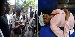 नवादा में शिक्षक पर जानलेवा हमला, गंभीर हालत में इलाज के लिए सदर अस्पताल में भर्ती