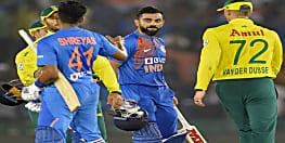 दक्षिण अफ़्रीका को 7 विकेट से हराकर भारत ने लिया श्रृंखला में 1-0 से बढ़त बनाई