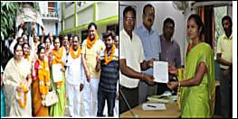 नवादा जिला परिषद की अध्यक्ष बनीं पिंकी भारती, लोकसभा चुनाव परिणाम का ट्रेंड इस चुनाव में भी दिखा!
