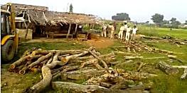 गया में वन विभाग ने की बड़ी कार्रवाई, आठ अवैध आरा मशीन को किया जब्त, भारी मात्रा में लकड़ी बरामद