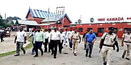 बदहाली : अधिकारियों के निरीक्षण के बावजूद नहीं सुधरी नवादा स्टेशन की हालत