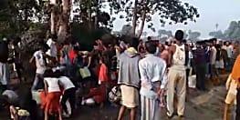 बरौनी पाइप लाइन से अचानक रिसने लगा पेट्रोल, लुटने के लिए ग्रामीणों में मची होड़