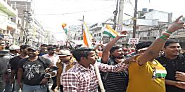 पटना की सड़कों पर फिर उतरी दारोगा अभ्यर्थियों की टीम, कहा- सड़क पर संग्राम जारी रहेगा