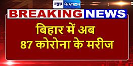 बिहार में जारी है कोरोना का कहर, अब आंकड़ा पहुंचा 87, नालंदा का शख्स मिला पॉजिटिव