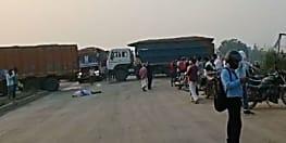 ट्रक हादसे में हुई युवक की मौत, बारुण ब्लैक मोड़ के पास की घटना