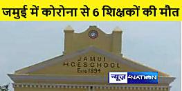JAMUI NEWS : जिले में आधा दर्जन शिक्षकों की कोरोना से हुई मौत, 50 अभी भी संक्रमित