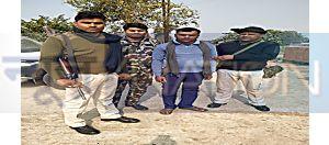 नवादा से घूसखोर सिपाही को निगरानी टीम ने रंगेहाथ किया गिरफ्तार