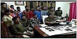 पुलिस को मिली बड़ी सफलता, कुख्यात मोहम्मद जोसेफ सहित 6 गिरफ्तार