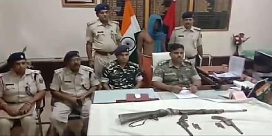 बेगूसराय का टॉप टेन अपराधी चढ़ा पुलिस के हत्थे, कई मामलों में थी पुलिस को तलाश