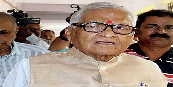 बड़ी खबर : बिहार के पूर्व सीएम जगन्नाथ मिश्र का निधन, लंबे समय से चल रहे थे बीमार