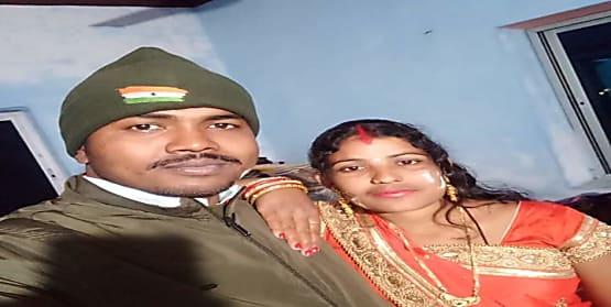 सीतामढ़ी में AK-47 से मर्डर, सिपाही ने पत्नी को गोलियों से भूना, खुद को भी मारी गोली