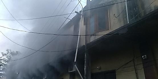 सेंट्रल बैंक क्षेत्रीय कार्यालय में लगी आग, घंटों मशक्कत के बाद पाया गया आग पर काबू